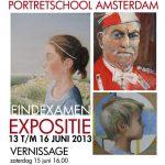 afficheportretschoolamsterdameindexamenexpositie